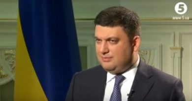 Прем'єр-міністр України Володимир Гройсман розповів про відповідальність за нелегальну працю